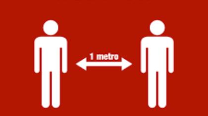 Distanza di 1 metro